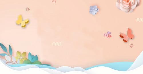 少女の日紙切れ風蝶花ポスター 女の子の日 少女 文学 紙切れ風 蝶 花, 少女の日紙切れ風蝶花ポスター, 女の子の日, 少女 背景画像