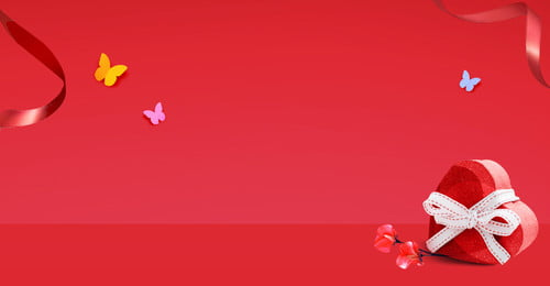 女の子の日red loveギフトボックスポスター 女の子の日 少女 文学 赤 ラブギフトボックス 赤いリボン 蝶, 女の子の日red Loveギフトボックスポスター, 女の子の日, 少女 背景画像