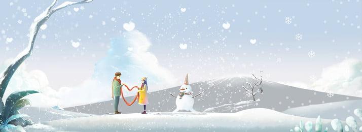 mùa đông tuyết lạnh, Cành Cây, Vẽ Tay, Phim Hoạt Hình Ảnh nền