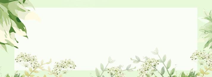 綠色創意水墨八月你好背景 綠色 創意 植物 自然 環境 紋理 環境 裝飾 邊框, 綠色, 創意, 植物 背景圖片