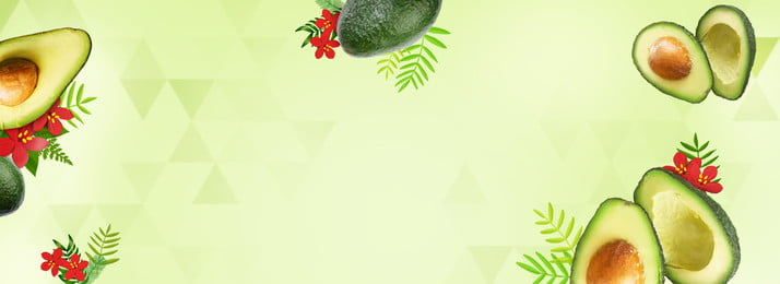 緑の新鮮なフルーツのテーマアボカドカルーセルの図 グリーン 新鮮な フルーツのテーマ アボカド カルーセルマップ バナー, グリーン, 新鮮な, フルーツのテーマ 背景画像
