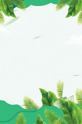 Flower Frame Green 背景画像