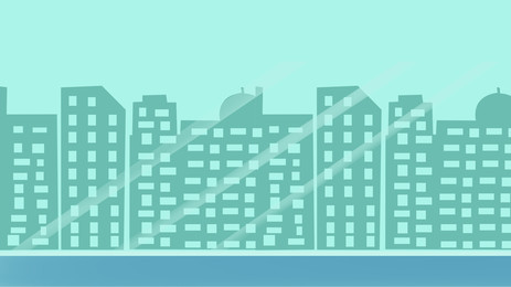 hand painted city building house, Houses, High-rise Building, Silhouette Background image