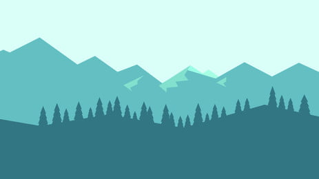 हाथ खींचा जंगल पोस्टर पृष्ठभूमि हाथ खींचा हुआ जंगल पेड़ वन पर्वत, चोटी, स्केच, पोस्टर पृष्ठभूमि छवि