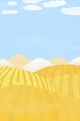 手繪簡約山坡海報背景 手繪 簡約 山坡 田野 藍天 天空 白雲 雲朵 海報 背景 手繪簡約山坡海報背景 手繪 簡約背景圖庫