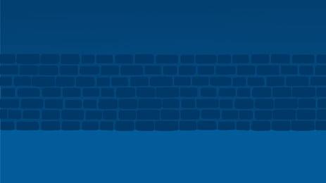Fundo de cartaz de parede de pintados à mão Mão desenhada Simples Wall Tijolo Azul Poster Plano de Desenhada Simples Wall Imagem Do Plano De Fundo