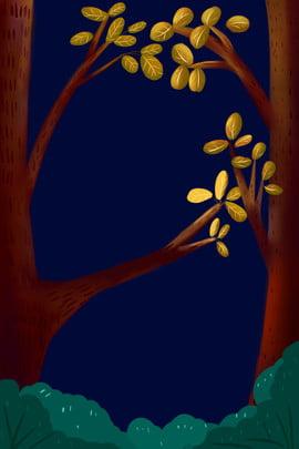 手繪樹木海報背景 手繪 樹木 樹葉 樹枝 綠色 植物 海報 背景 手繪樹木海報背景 手繪 樹木背景圖庫