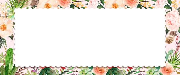 Vẽ tay màu nước hoa nền Vẽ tay màu nước Hoa Biên Tay Màu Vẽ Hình Nền