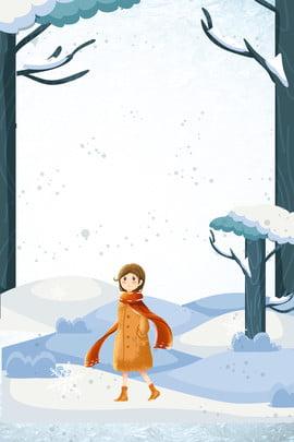 दिसंबर हैलो विंटर सनराइज गर्ल आर्ट पोस्टर हैलो  दिसंबर। दिसंबर सर्दी साहित्य और , खंड, यात्रा, हिमपात पृष्ठभूमि छवि