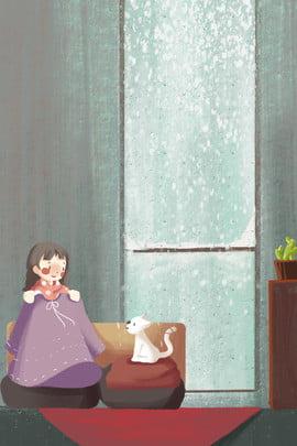 जूता कवर में छोटी लड़की रचनात्मक घर पोस्टर गृहस्थी गरम क्रिएटिव खिड़की के सामने लड़की किट्टी पौधा चित्रकार , के, गृहस्थी, गरम पृष्ठभूमि छवि