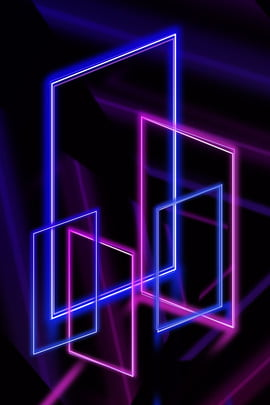 illuminated lines cool neon atmosphere , Poster, Lamp Effect, Sense Of Space Background image