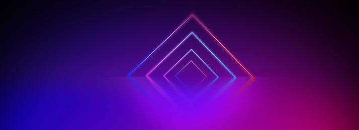 Dòng màu neon phát sáng Đường chiếu sáng Neon Nền đèn Thời ứng Hình Nền