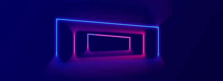 Glowing dòng đèn neon hiệu ứng nền mát mẻ Đường chiếu sáng Neon Hiệu Glowing Dòng đèn Hình Nền