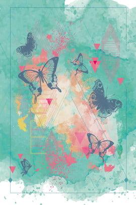 新鮮な募集インク水彩画スプラッシュインクH 5バタフライ漫画手描きの背景 インク 水彩画 しぶきインク 蝶 漫画 手描き 新鮮な 募集 才能 , インク, 水彩画, しぶきインク 背景画像