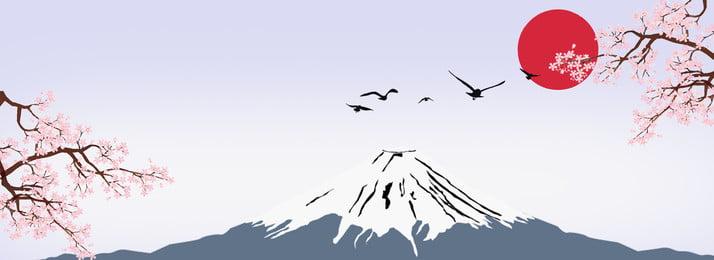 जापान माउंट फ़ूजी चेरी ब्लॉसम पोस्टर पृष्ठभूमि जापान ब्रीज लाल दिन माउंट फ़ूजी माउंट, फ़ूजी, माउंट, फ़ूजी पृष्ठभूमि छवि