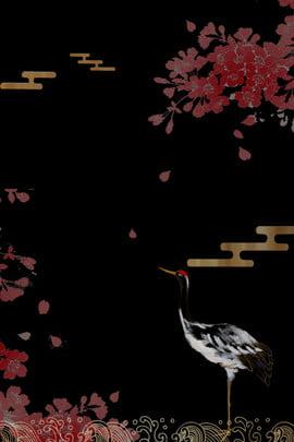 phong cách nhật bản và nền hoa đỏ gió phong cách nhật , Phong Cách Nhật Bản Và Nền Hoa đỏ Gió, đôi, Cẩu Ảnh nền