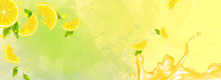 Lemon Fruit Juice Pattern Graphics, Simple, Synthesis, Shading, Background image