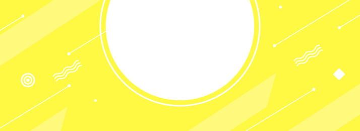 檸檬黃色banner背景圖 檸檬 黃色 圓 正方形 線條 元素 半透明 banner 背景圖, 檸檬, 黃色, 圓 背景圖片