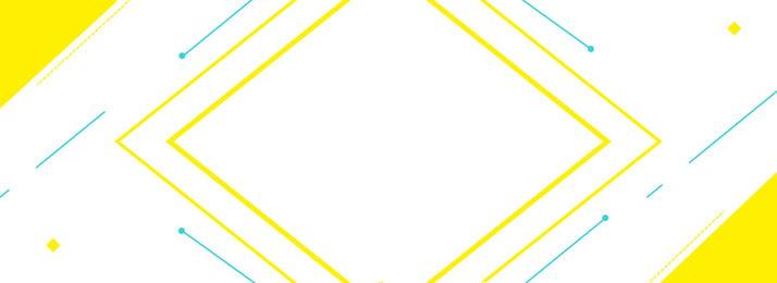 線條檸檬黃點綴背景圖 檸檬黃 黃色 線條 元素 正方形 點綴 banner 背景圖, 線條檸檬黃點綴背景圖, 檸檬黃, 黃色 背景圖片