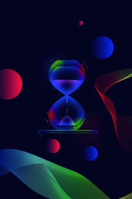 Light And Breathable Blue Gradient Beautiful, Geometric, Flicker, Atmosphere, Background image