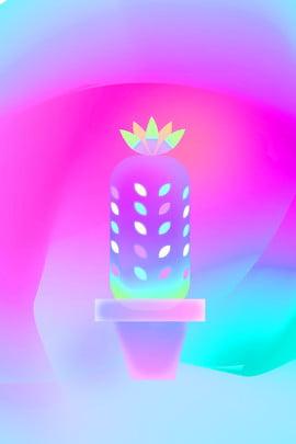 poster sense light overlay cactus nhận thức nhẹ thoáng , Chồng, Đơn, Hồng Ảnh nền