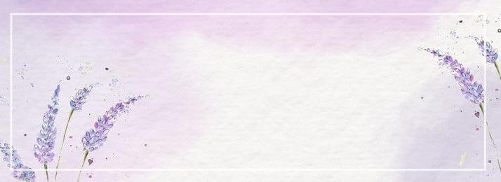 文藝清新八月你好紫色簡約banner海報 文藝 清新 八月 你好 紫色 簡約 banner 海報, 文藝清新八月你好紫色簡約banner海報, 文藝, 清新 背景圖片