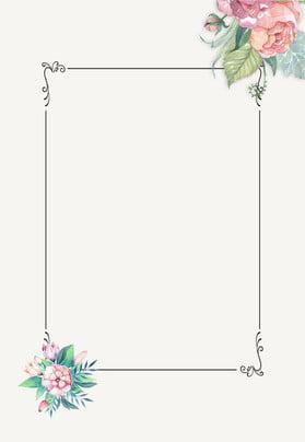 फ्लोरल एलिगेंट बॉर्डर बैकग्राउंड साहित्य और कला ताज़ा सरल सरल विज्ञापन पृष्ठभूमि , और, के, सीमा पृष्ठभूमि छवि