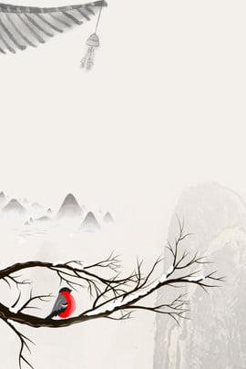 水墨中國風背景模板 荷花 竹葉 山水 中國風 水墨 荷花 竹葉 山水 詩詞 文藝 海報 , 水墨中國風背景模板, 荷花, 竹葉 背景圖片