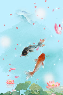 クリエイティブ合成鯉背景 ロータス 蓮の池 いか 恋 花びら グラデーションの背景 インク クリエイティブ 合成 , ロータス, 蓮の池, いか 背景画像