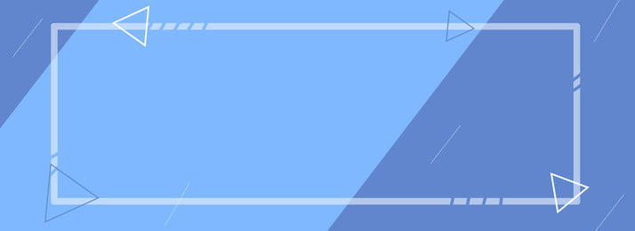 Lovely Simple Flat Summer, Fresh, Blue, Banner, Background image