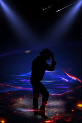 michael jacksons birthday image character silhouette classic action , Dancing, Black, Light Background image