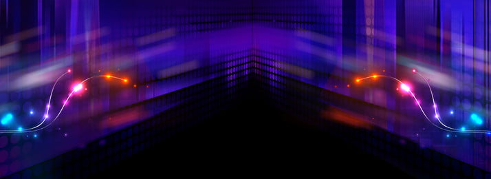 không khí neon phong cách banner thành phố neon thời trang khí quyển tuyệt giai, Quyển, Tuyệt, Giai Ảnh nền