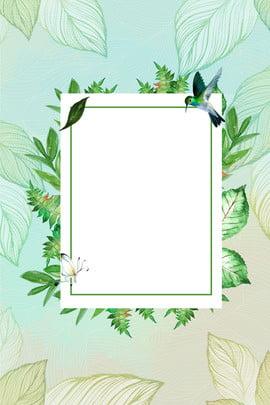 創意合成春季上新海報背景 春季上新 植物 花卉邊框 植物邊框 簡約 創意 鳥類 春天 , 春季上新, 植物, 花卉邊框 背景圖片