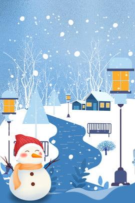 tháng 11 xin chào snowman cottage street light poster tháng 11 xin chào , Tuyết, Nhà, Tháng Ảnh nền