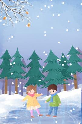 नवंबर हेलो सिंपल स्केटिंग पोस्टर नवंबर नवंबर में नमस्कार सर्दी सर्दी ठंड बर्फीला , सतह, हिमपात, नवंबर पृष्ठभूमि छवि