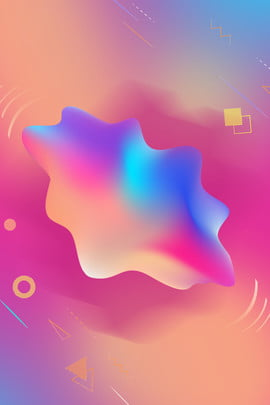 orange purple gradient laser style , Irregular, Fluid, Polygon Background image