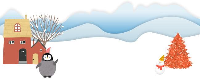 paper cut wind cute natal feliz natal dos desenhos animados pôster vento de corte, Natal, Fresco, Poster Imagem de fundo