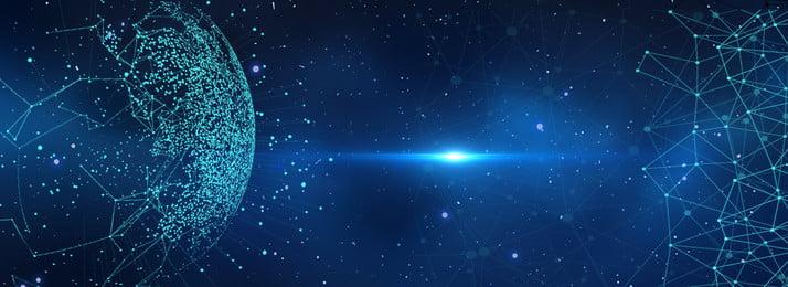 創意合成星球科技 星球 科技 星星 星空 星球科技 地球 創意 合成, 星球, 科技, 星星 背景圖片