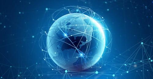 वायुमंडलीय ग्रह प्रौद्योगिकी ग्लोबल डेटा ग्रहों की तकनीक व्यापार वातावरण सरल डेटा, की, ग्लोब, वैश्विक पृष्ठभूमि छवि