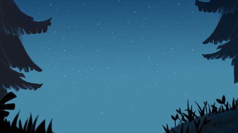 Fundo de cartaz de silhueta de planta Plant Preto Silhouette Criativo Design Simples Poster Plano de fundo Fundo De Cartaz Imagem Do Plano De Fundo