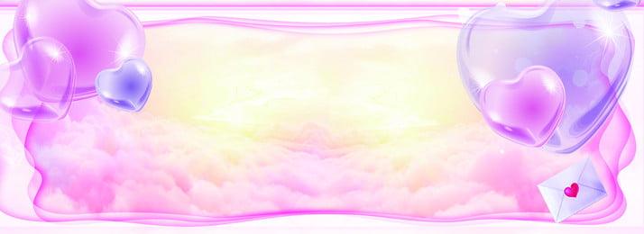 紫色夢幻裝飾七夕背景 紫色 夢幻 裝飾 紋理 氣球 光澤 禮物 七夕, 紫色, 夢幻, 裝飾 背景圖庫