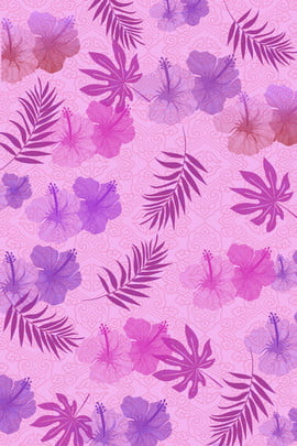 Lavender Purple Aesthetic Flower Message H5 Background Material Lavender S Manor Background