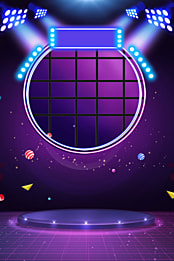 purple gradient cool stage poster , Electric Appliance, Home Appliance, Makeups Background image
