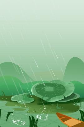 nước mưa phim hoạt hình đơn giản mưa , Lá Sen, Thuật Ngữ Mặt Trời, Nước Mưa Ảnh nền