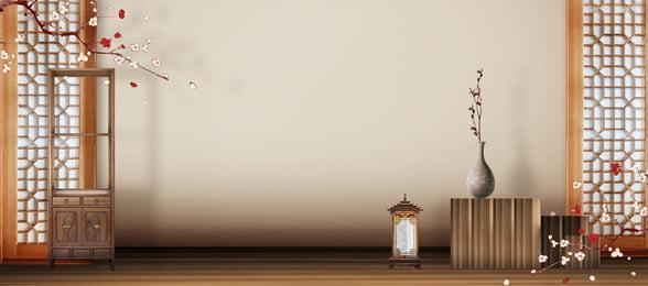 不動産中国風の古典的なバナーポスターの背景 不動産 中華風 クラシック バナー ポスター バックグラウンド 中国風の背景 不動産, 不動産, 中華風, クラシック 背景画像