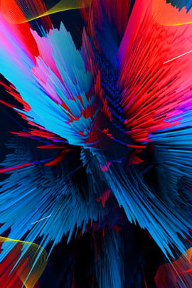 Red Blue Simple Red And Blue, Color Matching, Gradient, Color, Background image