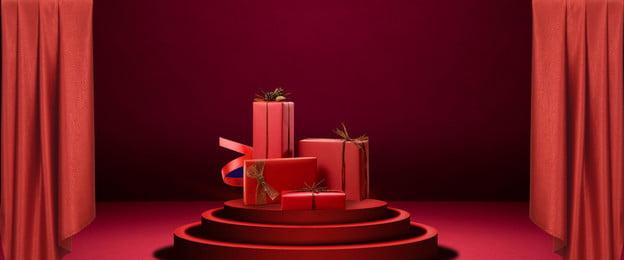 Đến poster hộp quà màu đỏ Đỏ Hộp quà Áp phích Quà Áp Phích Hình Nền