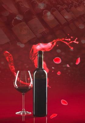 लाल विंटेज गुलाब का पोस्टर रेड वाइन गुलाब लाल शराब की , होना, शराब, का पृष्ठभूमि छवि