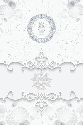 Simple And Elegant High End Luxurious Fresh, Wedding Invitations, Can Do, Background Image, Background image