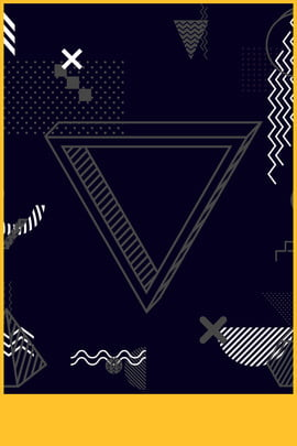 simple black friday frame , Yellow, Memphis, Triangle Background image